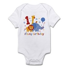 Safari 1st Birthday Onesie