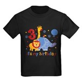 Safari 3rd Birthday T