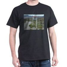 Warning Sign on Groom Lake Ro T-Shirt