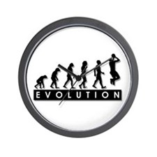 Evolution of the Basketball P Wall Clock