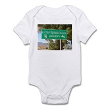 New ET Highway Sign Infant Bodysuit