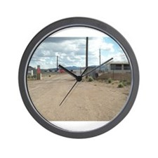 Rachel Back Gate to Area 51 Wall Clock