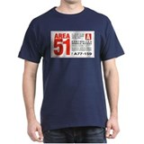 Area 51 Parking Pass T-Shirt