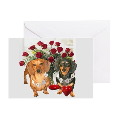 Dox Love Greeting Card