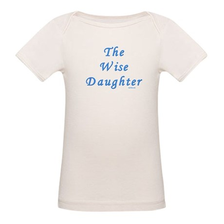 The Wise Daughter Passover Organic Baby T-Shirt