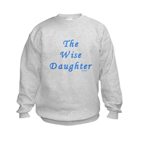 The Wise Daughter Passover Kids Sweatshirt