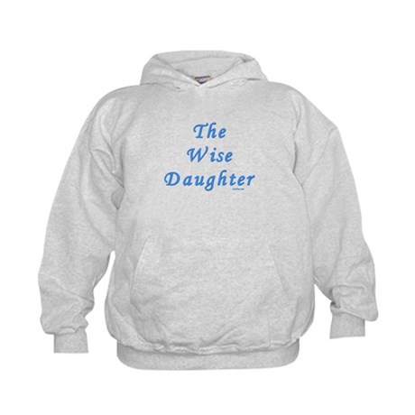 The Wise Daughter Passover Kids Hoodie