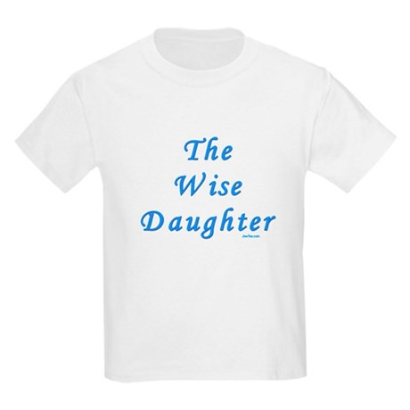 The Wise Daughter Passover Kids Light T-Shirt