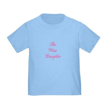 The Wise Daughter Passover Toddler T-Shirt