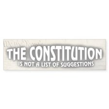 Constitution Car Sticker