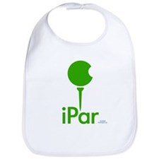 iPar Color Trimmed Bib (Green Logo)