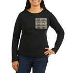 Be An Angel Save A L:ife Women's Long Sleeve Dark