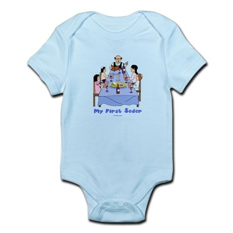 First Seder Jewish Kids Infant Bodysuit