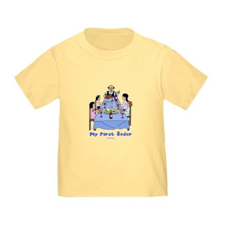 First Seder Jewish Kids Toddler T-Shirt