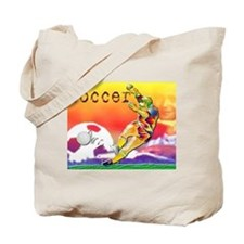 Tote Bag and Soccer Art
