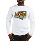 Driveshaft Retro Cassette Long Sleeve T-Shirt