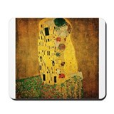 Gustav Klimt 'The Kiss' Mousepad