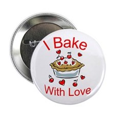 I Bake with Love (1) Button