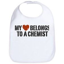 My Heart Belongs To A Chemist Bib