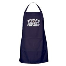 World's Coolest Chemist Apron (dark)