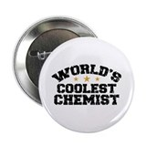 "World's Coolest Chemist 2.25"" Button"