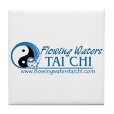 Flowing Waters Tai Chi Tile Coaster
