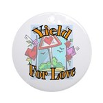 Yield for Love (2) Pendant (Round)