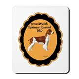 Welsh Springer Spaniel DAD Mousepad