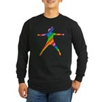 star jump Long Sleeve Dark T-Shirt
