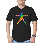 star jump Men's Fitted T-Shirt (dark)