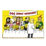 dog show Postcards (Package of 8)