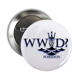 "What Would Poseidon Do? 2.25"" Button (10 pack)"