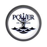 Power of Poseidon Wall Clock