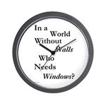 World Without Walls Wall Clock