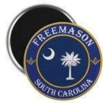 South Carolina Masons Magnet