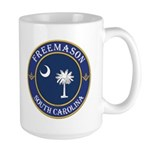 South Carolina Masons Large Mug