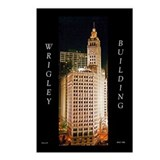 Wrigley Building, Chicago Postcards (Package of 8)