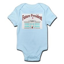 Future President Infant Creeper