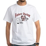 Future Doctor White T-shirt