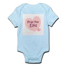 Pray For Elks Infant Creeper