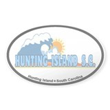 Hunting Island - Beach Design Decal