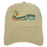 Hunting Island - Waves Design Baseball Cap