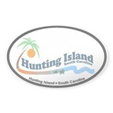Hunting Island - Waves Design Decal