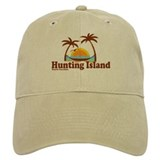 Hunting Island - Beach Design Baseball Cap