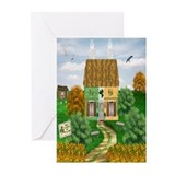 St. Patrick's Day Cottage Cards (Pk of 20)