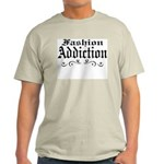 Fashion Addiction Ash Grey T-Shirt