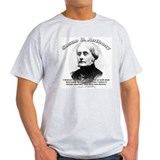 Susan B. Anthony 01 Ash Grey T-Shirt