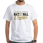 2010 National Champs White T-Shirt