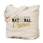 2010 National Champs Tote Bag