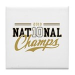 2010 National Champs Tile Coaster